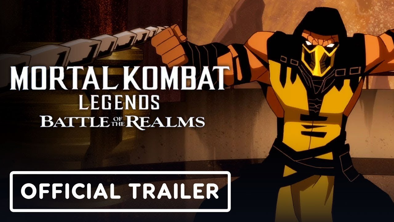 Mortal Kombat Legends: Battle of the Realms - Official Exclusive Trailer (2021) Joel McHale