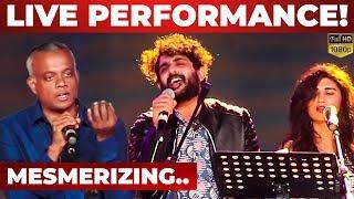 GVM & Sid Sriram On Stage LIVE PERFORMANCE!