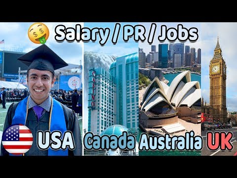 Australia Vs Canada Vs US Vs UK | Best Country To Study?