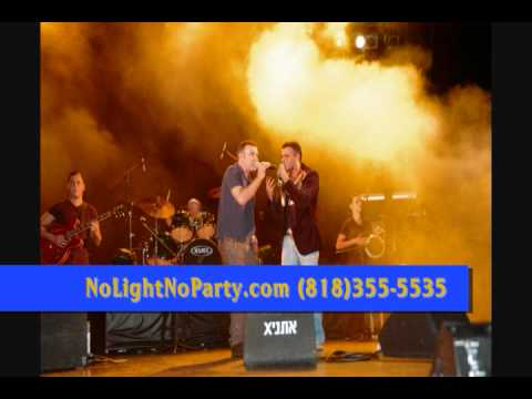 Eyal Golan &  Ethnix USA אייל גולן & אתניקס לוס אנג'לס NoLightNoParty.com