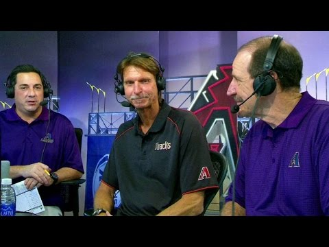 STL@ARI: Randy Johnson joins the booth