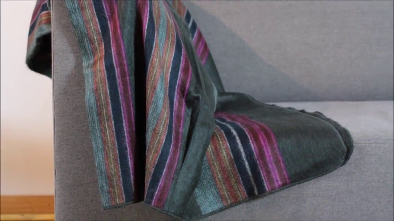 Alpaca Throw Blankets   Sofa Throw Ecuador Blankets   Mauch Studio