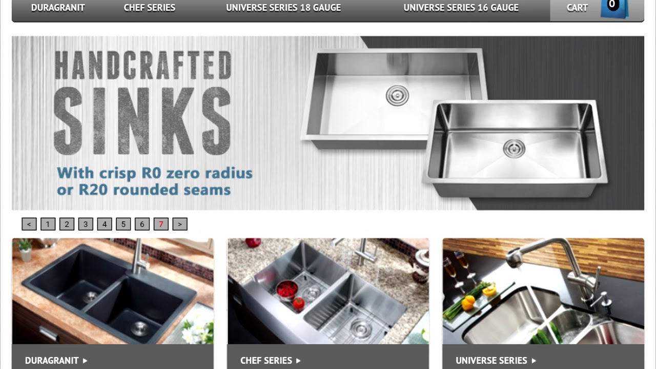 MY STONE KITCHEN SINK W/ NATURAL STONE SOLUTIONS - YouTube