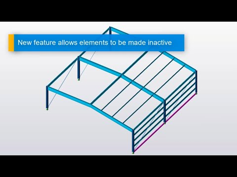 Tekla Structural Designer Inactive Members