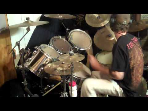 Iron Maiden - The Trooper - Drum Cover by Andy Jones [HD]
