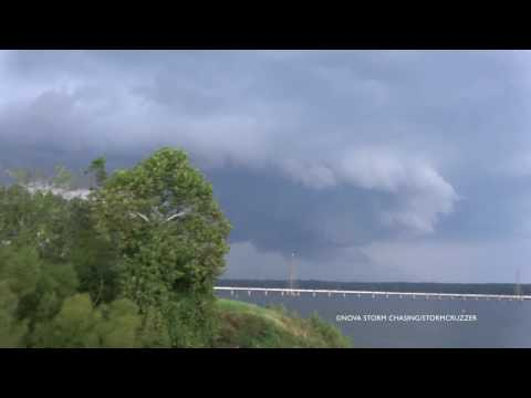 4K Supercell Structure in Clarksville, VA with Stormcruzzer. September 28, 2016