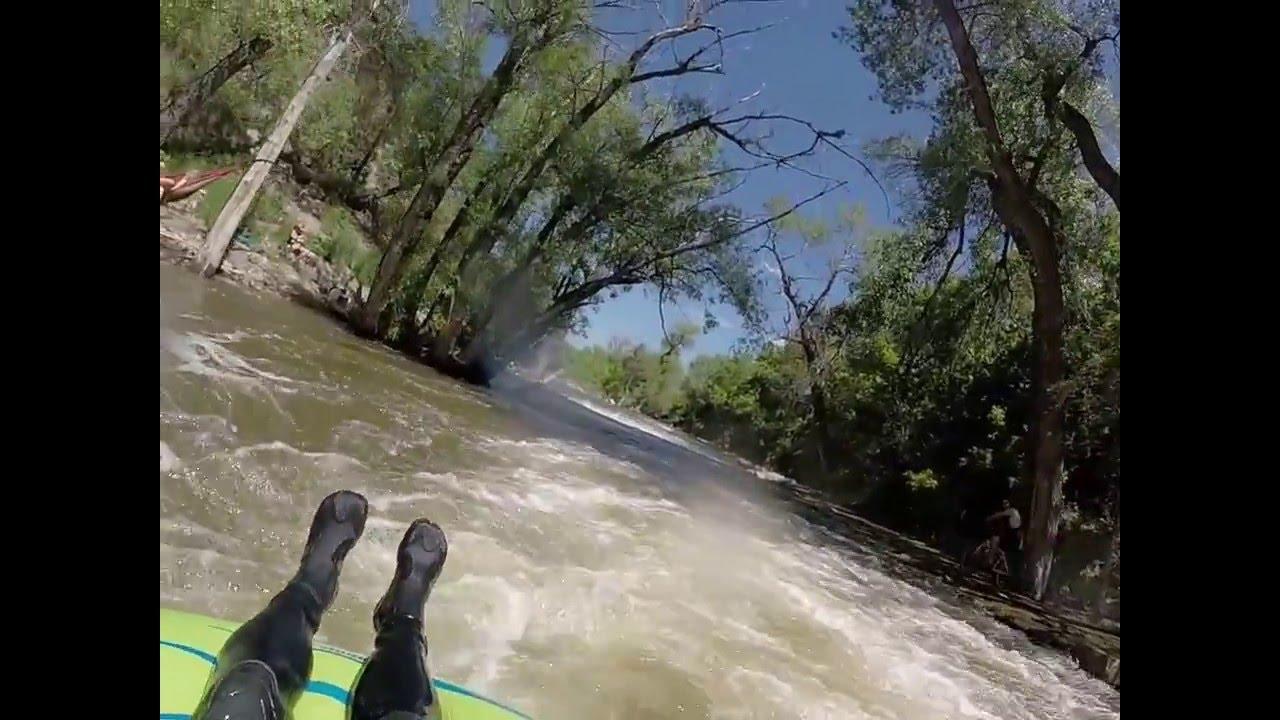 Extreme tubing Boulder Creek June 2015