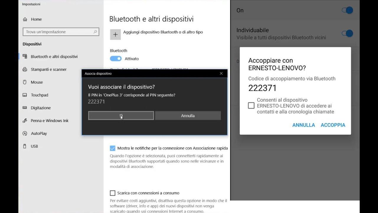 Come attivare Bluetooth su Windows 10 | Salvatore Aranzulla