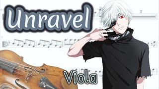 Video Unravel - Tokyo Ghoul Opening Full (Viola) download MP3, 3GP, MP4, WEBM, AVI, FLV Agustus 2018