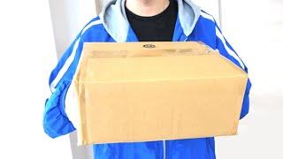 【実写】動画を見た家族から連絡があり、急に何かが入った謎の箱が送られてきました…