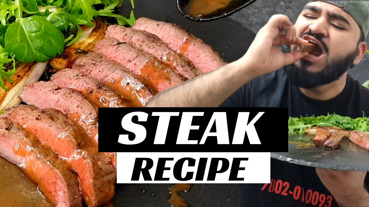 BEST JUICY STEAK RECIPE   with PEPPER SAUCE   Halal Chef