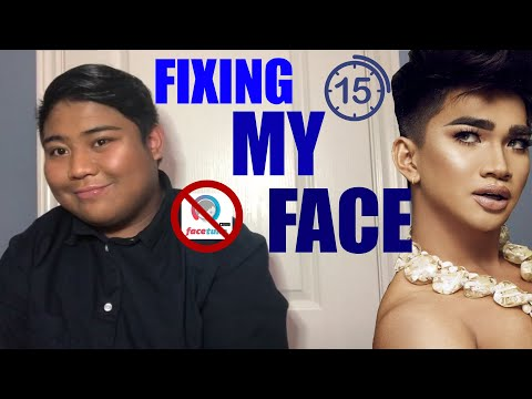 FIXING MY FACE IN UNDER 15 MINUTES FT. BRETMAN ROCK 'S PRODUCTS thumbnail