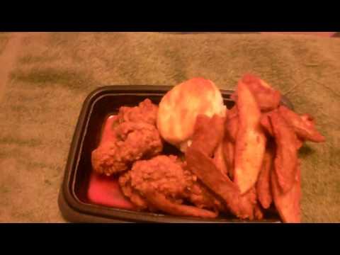 KFC  Georgia Gold  Chicken Tenders Food Review