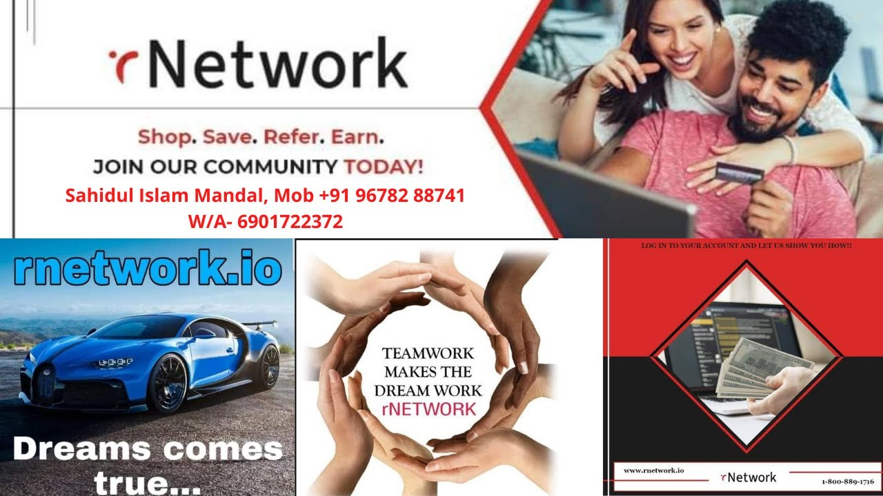 Promotional Video-R Network details in Assamese || Best Network Marketing company R Network ||