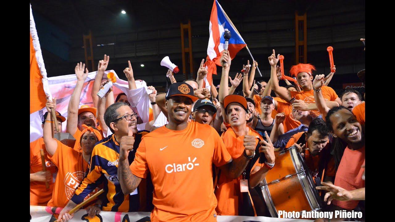 Prfc Vs Indy Eleven  Carmelo Anthony En Puerto Rico Youtube