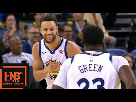 Golden State Warriors vs New York Knicks Full Game Highlights / Jan 23 / 2017-18 NBA Season