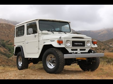 1982 Toyota Land Cruiser FJ40 SoCal Original For Sale At TLC!   YouTube