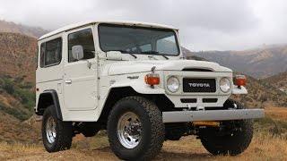 1982 Toyota Land Cruiser FJ40 SoCal Original For Sale at TLC!