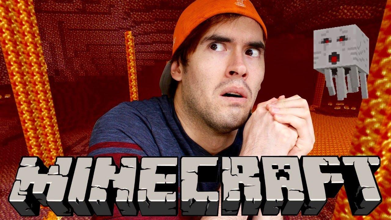 NOS VAMOS AL INFIERNO (NETHER) | Minecraft | Parte 13 - JuegaGerman
