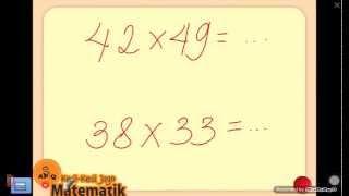 Trik Perkalian Cepat Mudah Matematika SD SMP SMA
