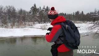 Зимний спиннинг. Ловля щуки на малой реке. Zetrix Companero.