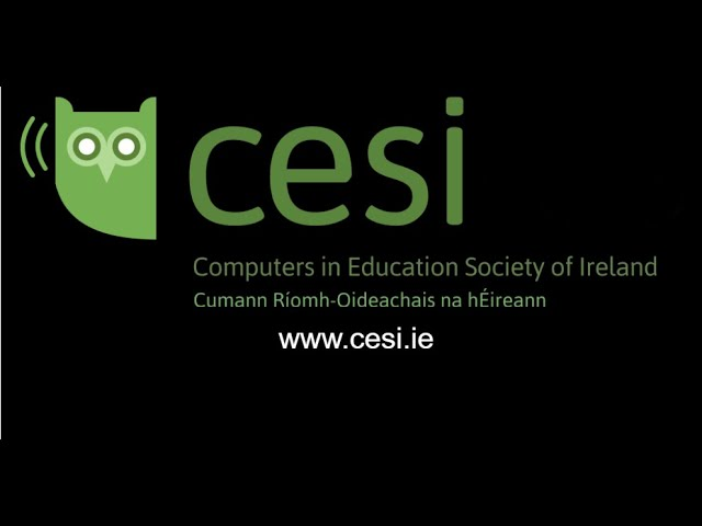 CESI Staffroom Webinar: Self assessing digital skills Webinar with Deirdre Hodson