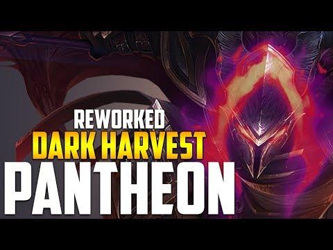 NEW SEASON 9 DARK HARVEST IS BROKEN ON PANTHEON! - HOW TO DOMINATE EP. 36