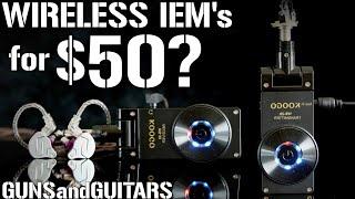GENIUS WIRELESS IEM HACK!!! (The Koogo guitar wireless system for in ear monitors)