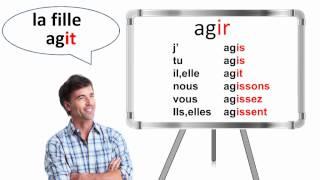 Conjuguer Les Verbes Du Deuxieme Groupe Au Present De L Indicatif Youtube