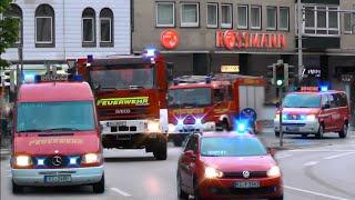 Großeinsatz | Feuer in Kieler Krankenhaus - Einsatzfahrten