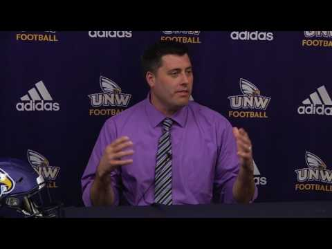 Matt Moore Introduced as UNW