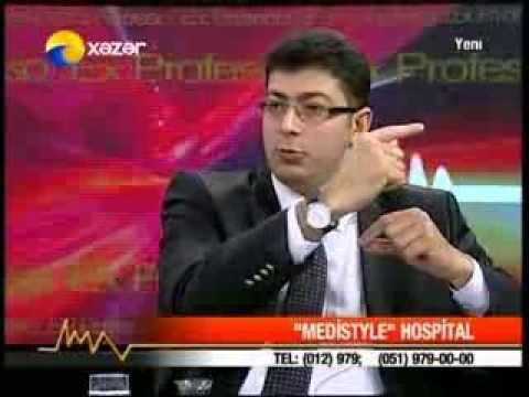 Burun Əməliyyatları, Rinoplastika - Uzman Dr. Yusif Hacıyev (Ex Professo Verilişi - Xəzər TV)