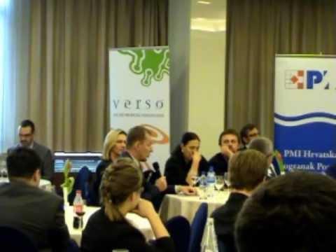 PMI Croatia Forum 2012 - Okrugli stol dio 1