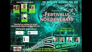 FESTIVALUL NOII GENERATII 2019 Festbook