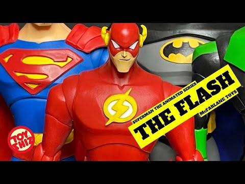 🎃 2021 THE FLASH + SUPERMAN (black suit variant | Superman TAS | McFarlane Toys