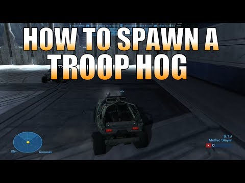 Halo: Reach Forge - How to Spawn a Troop Hog