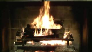 Holiday Fireplace 3+ Hrs. (JazzRockCountryPop)