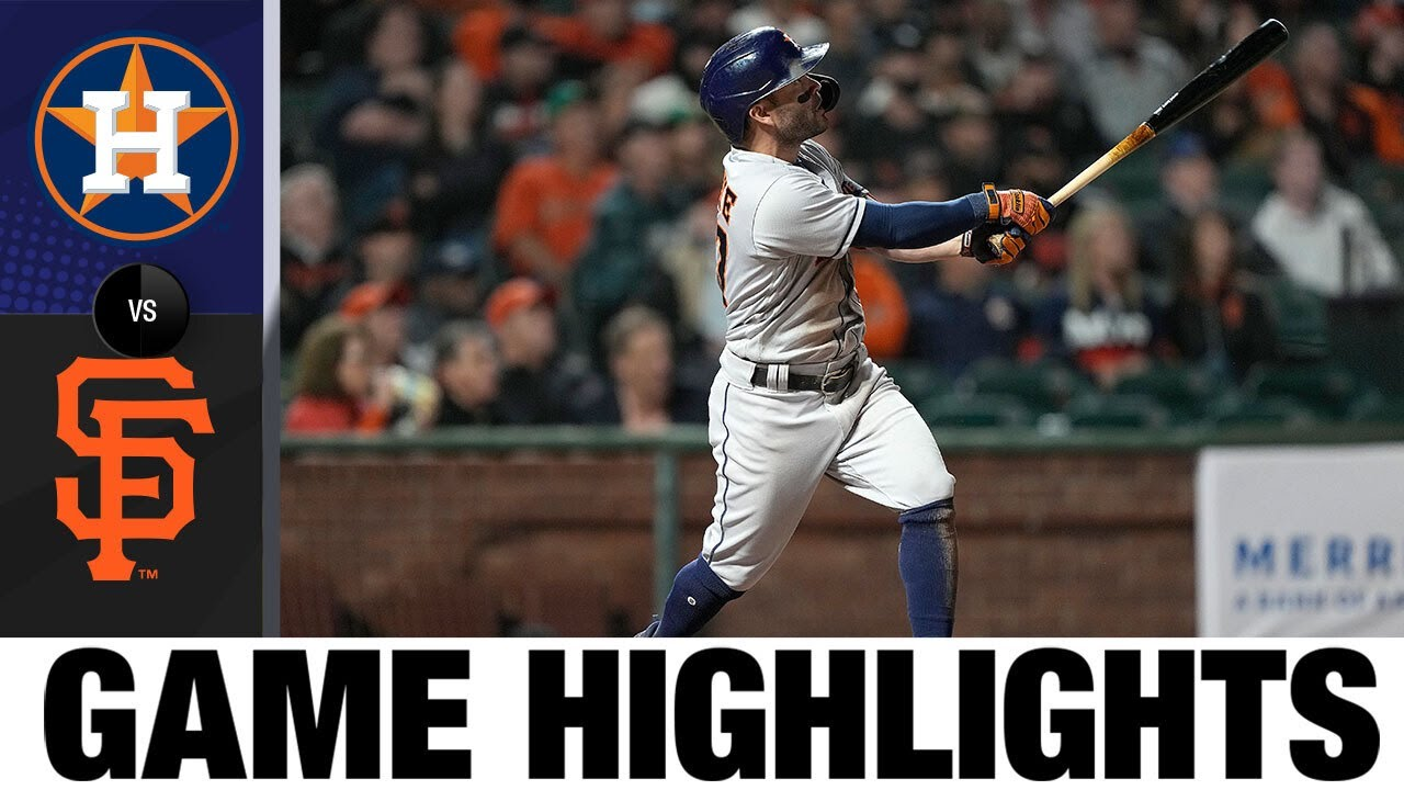 Download Astros vs. Giants Game Highlights (7/31/21) | MLB Highlights