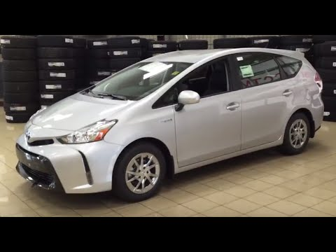 2017 Toyota Prius V Luxury Package Review