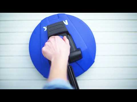 Nilfisk Patio cleaner for vertical use