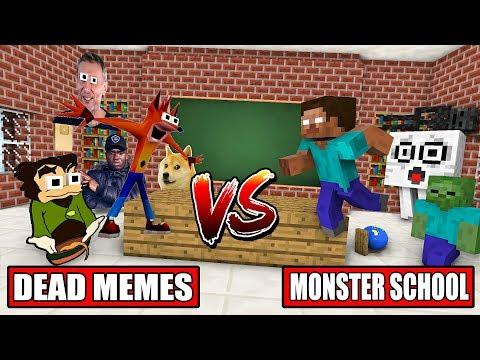 MONSTER SCHOOL VS DEAD MEME - Minecraft Animation