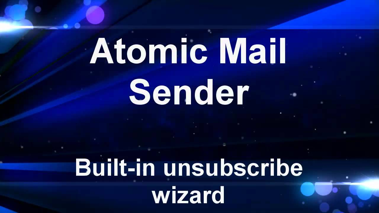 Mass mailer with built-in SMTP server  Send newsletter and