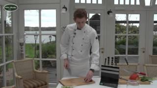 Schneidetechniken Kochvideos Rezepte Villa Martha Kochschule