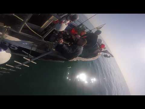 Dive prep in Guernsey