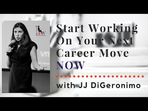 Advance Your Career with JJ DiGeronimo, Speaker and Tech Woman