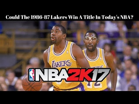 Could The 1986-87 Lakers Win A Title In Today