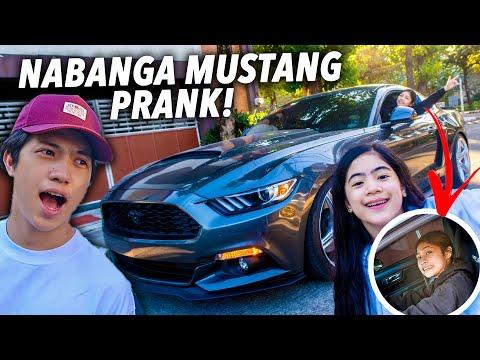NABANGA Mustang Prank On Bro (Car Upgrade Surprise)   Ranz and Niana