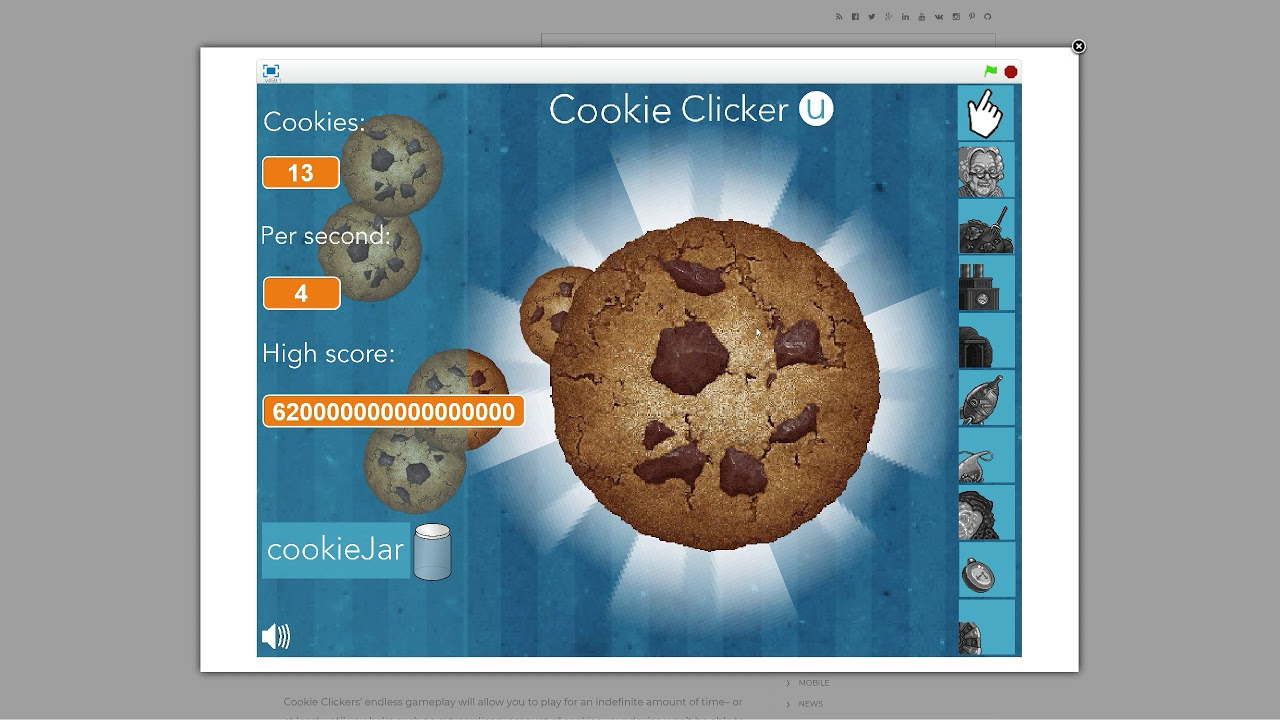 Cookie Clicker Unblocked Youtube