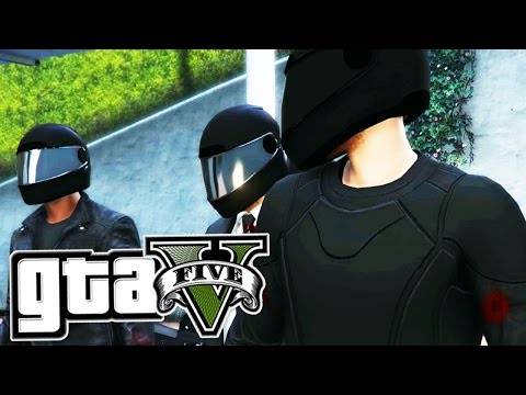 Grand Theft Auto 5 - THE PACIFIC STANDARD JOB - Bikes - (PC Gameplay Walkthrough)