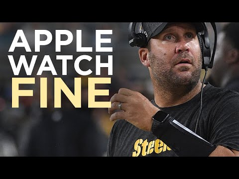 Sports Wrap with Ron Potesta - Roethlisberger Fined For Wearing Apple Watch
